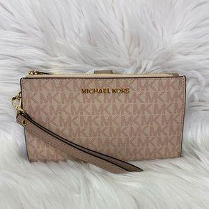 💗 Michael Kors 💗 Double ZIP Wristlet / Wallet